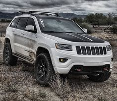This is what I believe Jeep should offer as an available package, for the enthusiast. I wanted a great looking, nice driving, SUV.that was extremely capable off-road. Srt8 Jeep, Jeep Trailhawk, Jeep Wrangler Lifted, Jeep Rubicon, Lifted Jeeps, Jeep Wranglers, Grand Cherokee Trailhawk, 2011 Jeep Grand Cherokee, Jeep Cherokee Limited