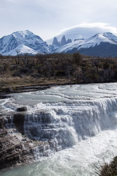 Exploring Patagonia with Quasar Expeditions - from waterfalls to glaciers to stunning hikes, this was one of the best tours I've ever done! Places Around The World, Oh The Places You'll Go, Places To Travel, Places To Visit, Around The Worlds, Beautiful Waterfalls, Beautiful Landscapes, Patagonia, Beautiful World