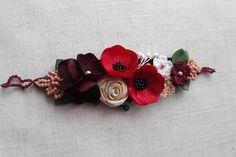 Bentita cu flori rosii | Breslo Belt, Earrings, Jewelry, Belts, Ear Rings, Stud Earrings, Jewlery, Jewerly, Ear Piercings