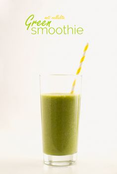 Anti-cellulite Green Smoothie. It's #vegan and SO delicious! | minimaleats.com