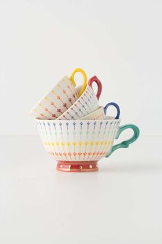 Tea Time Measuring Cups | Anthropologie.eu
