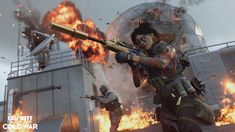 Call Of Duty Black Ops, Series Black, Slums, Babysitting, Cold War, Seasons, News, Twitter, Weapons Guns