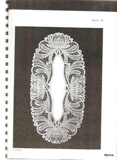DUTCH BOBBIN LACE PATTERNS - Marina - Álbumes web de Picasa