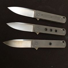 Three more down!  #laconicoknives #ezc #custom #knife