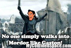 One Does Not Simply Walk Into Mordor!