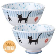 How big is the teacup weight Bowl 2 pairs Cat's cafe cat for women design tableware ceramic stylish tableware MADE IN JAPAN / made in Japan new movers ready life gadgets store Bell common