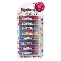 Bonne Bell Lip Smacker Party Pack Flavored Lip Balm - Skittles
