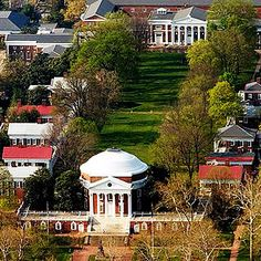 University of Virginia   41 Scenic College Campuses That Were Made For Instagram