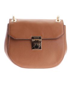 This Acorn Cecelia Leather Saddle Bag by Michael Kors is perfect! #zulilyfinds
