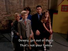 """You can't pick your family. 