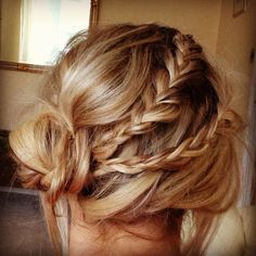 Rodarte Hairstyle for Guest Wedding