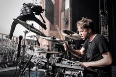 Billy Rymer of The Dillinger Escape Plan