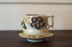 Fancy Vintage Lusterware Cup and Saucer ♥ by ArtoftheFind on Etsy, $17.50