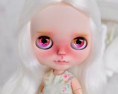 SALE!!! - M A R G O ~ OOAK Custom Blythe doll