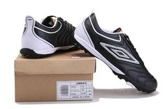 Umbro Cup Turf Football Boots Black White