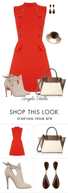 """""""Untitled #676"""" by angela-vitello on Polyvore featuring Oasis, Vince Camuto, Jimmy Choo, LE VIAN, women's clothing, women, female, woman, misses and juniors"""