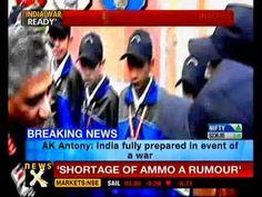Shortage of ammunition a rumour: Antony - NewsX
