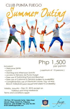 17 Best Club Punta Fuego Promo Deals 2013 Images Club