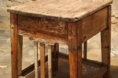 Shabby, Table, Furniture, Home Decor, Homemade Home Decor, Mesas, Home Furnishings, Desk, Decoration Home