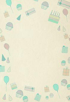 Free Printable Birthday Pattern Invitation