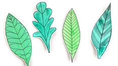 Class Value Leaves Creative Play, Craft Activities For Kids, Fun Crafts, Plant Leaves, Stationery, How To Make, Blog, Inspiration, Fun Diy Crafts