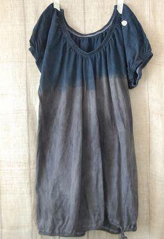 dip-dyed tunic