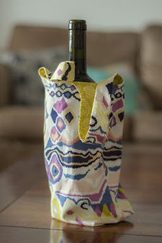 Wine bag in Sarah Watson's Luxe in Bloom