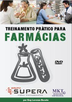 Treinamento em DVD para Farmácias, situações reais em uma farmácia real, aumente seu ticket médio com esta videoaula, compre o seu no site www.gruposupera.com.br