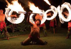 Fia Fia Dinner Show - Fire Dancing