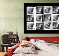 Contact Sheet Tropicolor Inverted 120 Film PlexiFoto Print on Plexiglas in Dorm Contact Sheet, 120 Film, Dorm, Photo Art, Gallery Wall, Home Decor, Dormitory, Interior Design, Home Interior Design