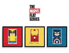 "Check out new work on my @Behance portfolio: ""the MARVEL flat series / poster collection"" http://be.net/gallery/44195227/the-MARVEL-flat-series-poster-collection"