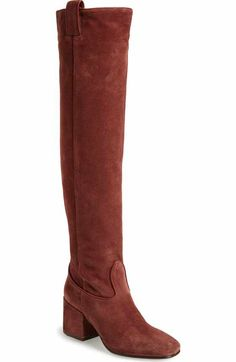 Fendi Rockoko Over the Knee Boot (Women) | Nordstrom