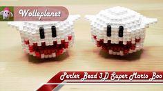 Perler Bead 3D Super Mario Boo
