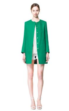 - Blazers - Woman | ZARA United States  Green - my favourite colour:) carrymystyle.com