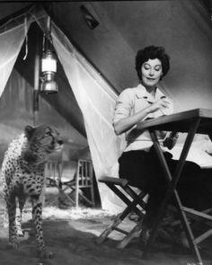Ava Gardner, 1953 in Mogambo