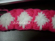 Free Crochet Patterns: More Interesting Crochet Stitches Crochet Motifs, Crochet Stitches Patterns, Crochet Designs, Free Crochet, Stitch Patterns, Knit Crochet, Crochet Crafts, Crochet Projects, Crochet Ideas
