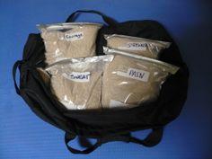 Sandbag training - How to make your own sandbag, benefits of sandbag training, videos of exercises, etc.