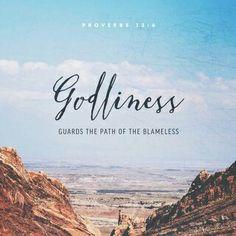 Proverbs 13:6 www.inchristiamshe.com