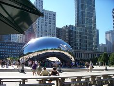 Chicago: The Bean...Home sweet home.