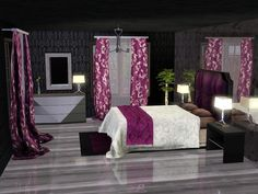Adonia Bedroom by sim_man123 - Sims 3 Downloads CC Caboodle