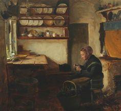 Artist Hans Andersen Brendekilde - FindArtinfo