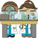Boy and Girl Science Kids Examining Bugs Great free Clip art site Classroom Jobs, Classroom Projects, Classroom Organization, Science Lessons, Science Art, Science For Kids, Science Topics, Science Clipart, Science Images