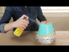 How to Paint Terra-Cotta Pots