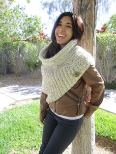 Hunger Games, Katniss Cowl, Shawl, Wrap, Scarf,  Poncho  Catching Fire OOAK  District 12 Style