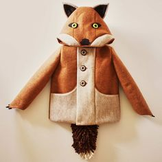 Fantastic Little Fox Coat (for kids) by Little Goodall on PRESERVE