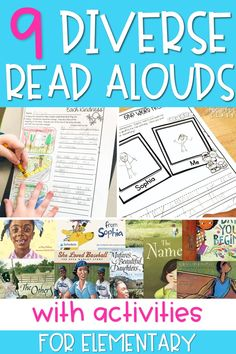 Looking for diverse read aloud suggestions so that you can create a more diverse classroom library? In this post, I share some of my favorite diverse children's books, as well as activities that go with them.