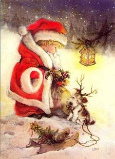 by Lisi Martin...I have this plate in a limited edition...it is precious to me and out EVERY Christmas