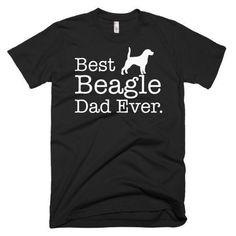 Men's Best Beagle Dad Ever Dog Lover Gift T-Shirt for just $24.00