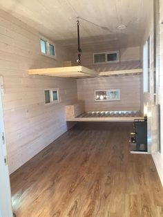 Shipping Container Homes & Buildings: 20 ft HC Shipping Container Home, Canada - recycling containers Small Shipping Containers, Shipping Container Sheds, Cargo Container Homes, Storage Container Homes, Building A Container Home, Container House Plans, Shipping Container Interior, Container Houses, Container Home Designs