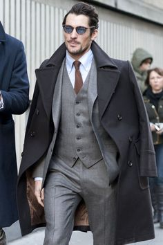 Where: London Collections: Men, London, UK When:  9 January 2015 Wearing: Marks and Spencer suit